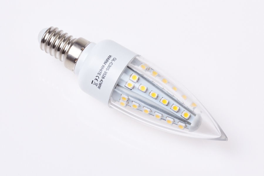 LED žárovka GREEN LIGHTS E14 42LED SMD3528 2,1W svíčka